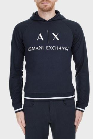 Armani Exchange - Armani Exchange Erkek Sweat 6GZM79 ZJ1GZ 1510 LACİVERT