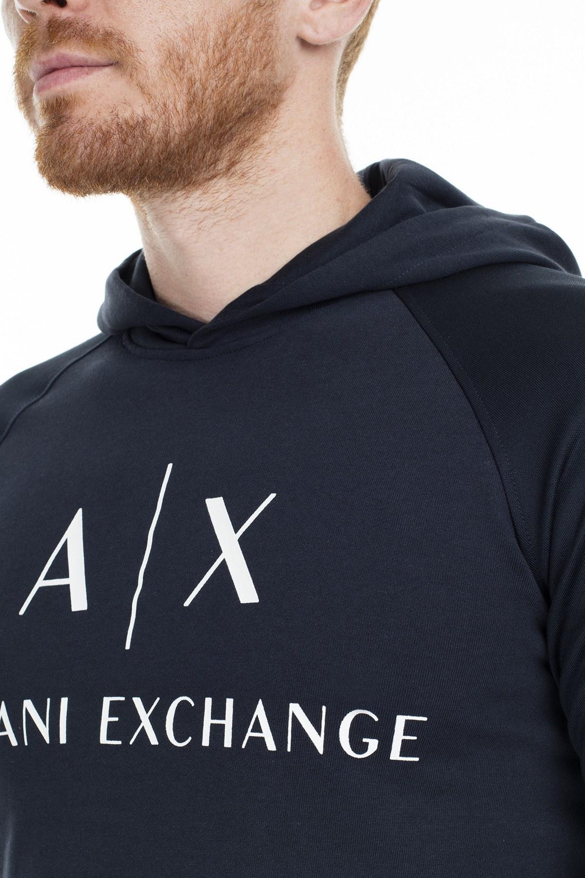 Armani Exchange Erkek Sweat 6GZM79 ZJ1GZ 1510 LACİVERT