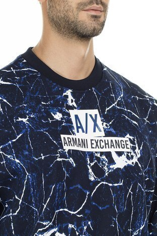 Armani Exchange Erkek Sweat 6GZM80 ZJU1Z 6596 LACİVERT