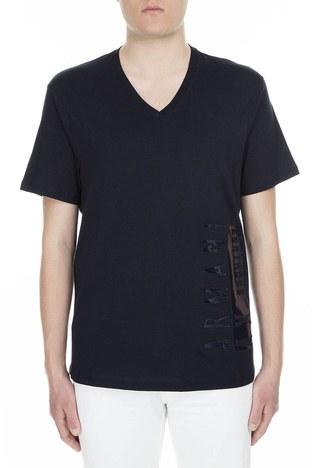 Armani Exchange - Armani Exchange Erkek T Shirt 3GZTFC ZJH4Z 1510 LACİVERT