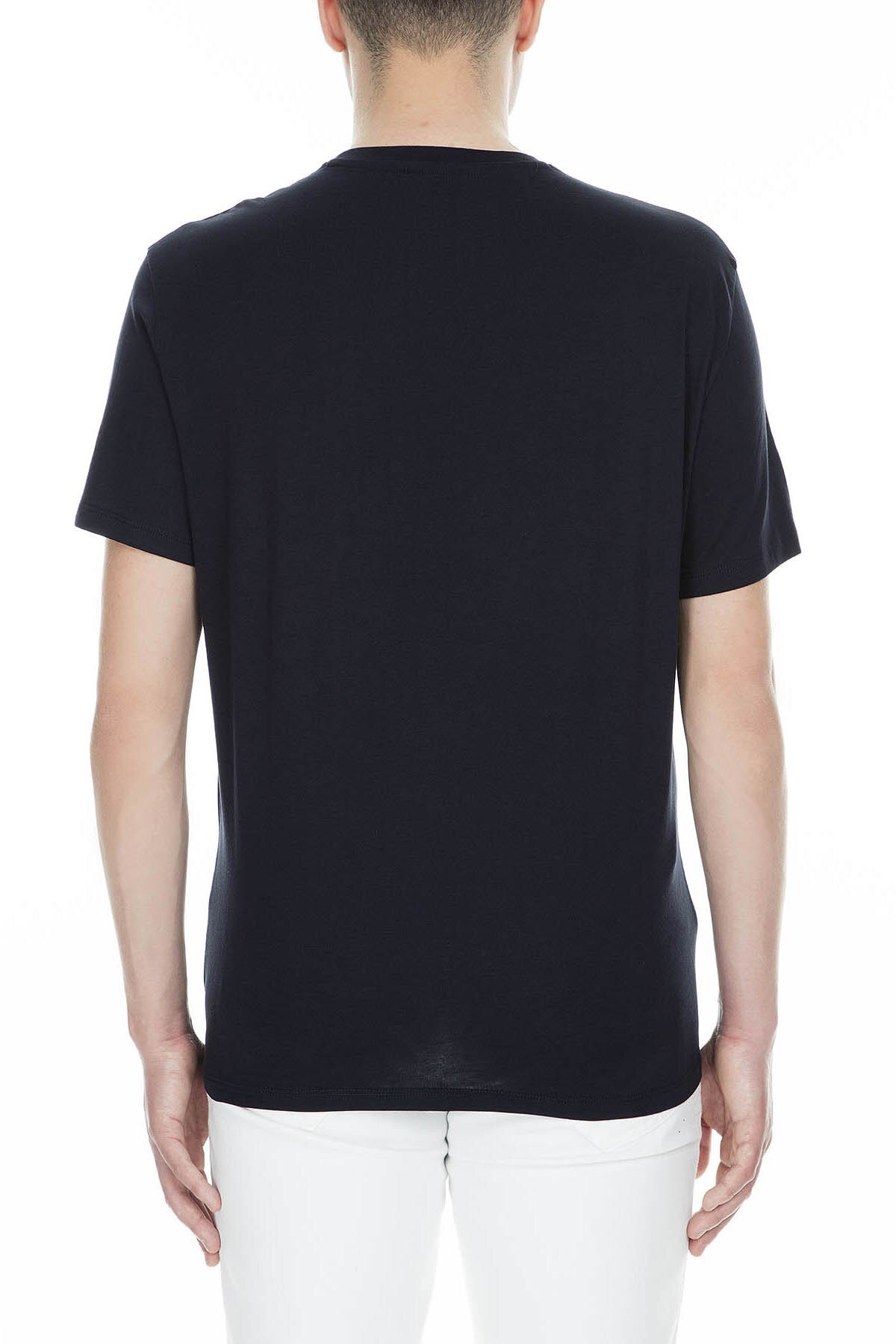 Armani Exchange Erkek T Shirt 3GZTFC ZJH4Z 1510 LACİVERT