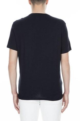 Armani Exchange - Armani Exchange Erkek T Shirt 3GZTFC ZJH4Z 1510 LACİVERT (1)
