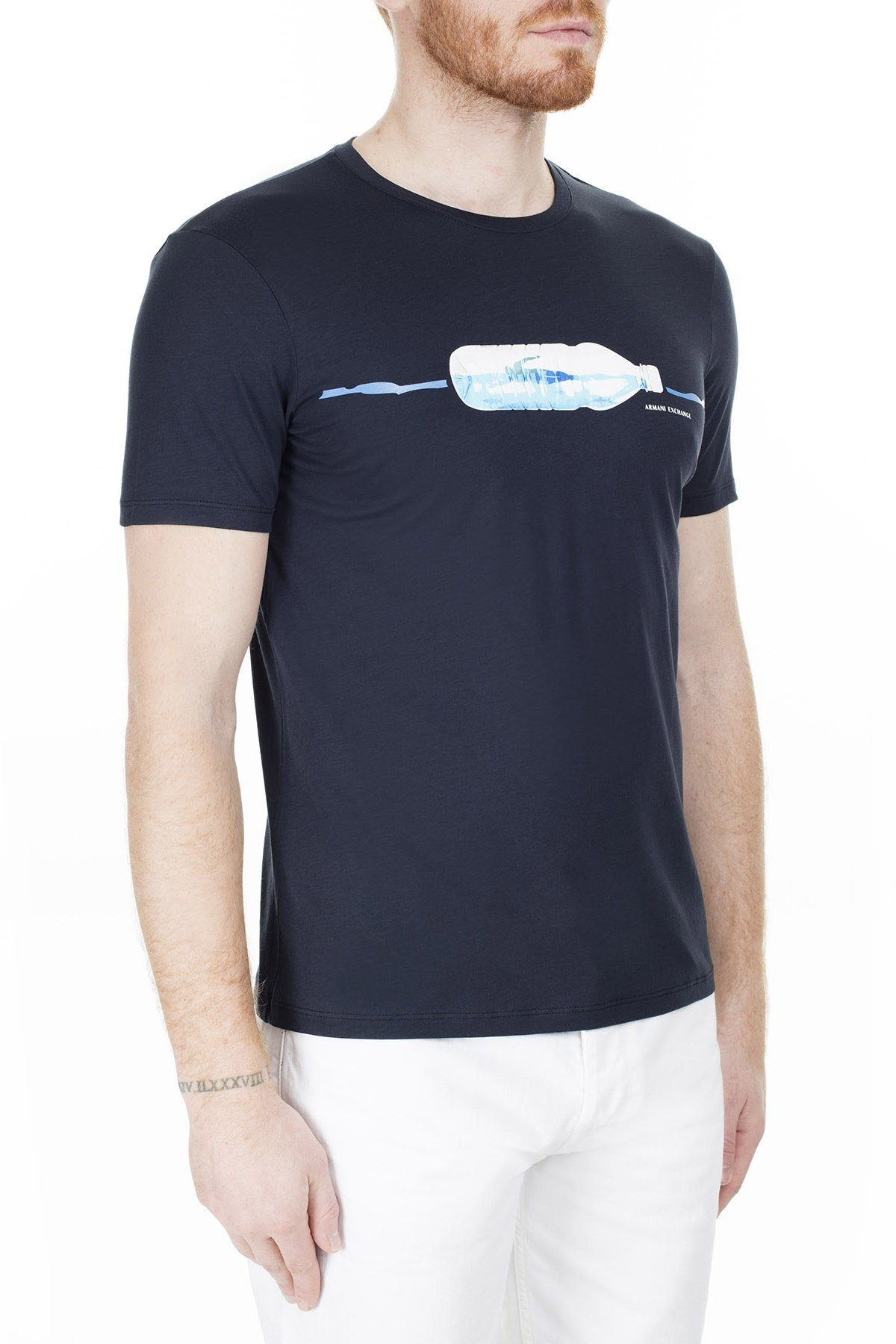 Armani Exchange Erkek T Shirt 3HZTAV ZJA5Z 1510 LACİVERT