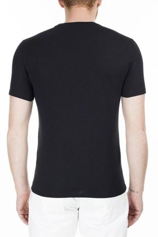 Armani Exchange - Armani Exchange Erkek T Shirt 3HZTBC ZJ2HZ 1200 SİYAH (1)