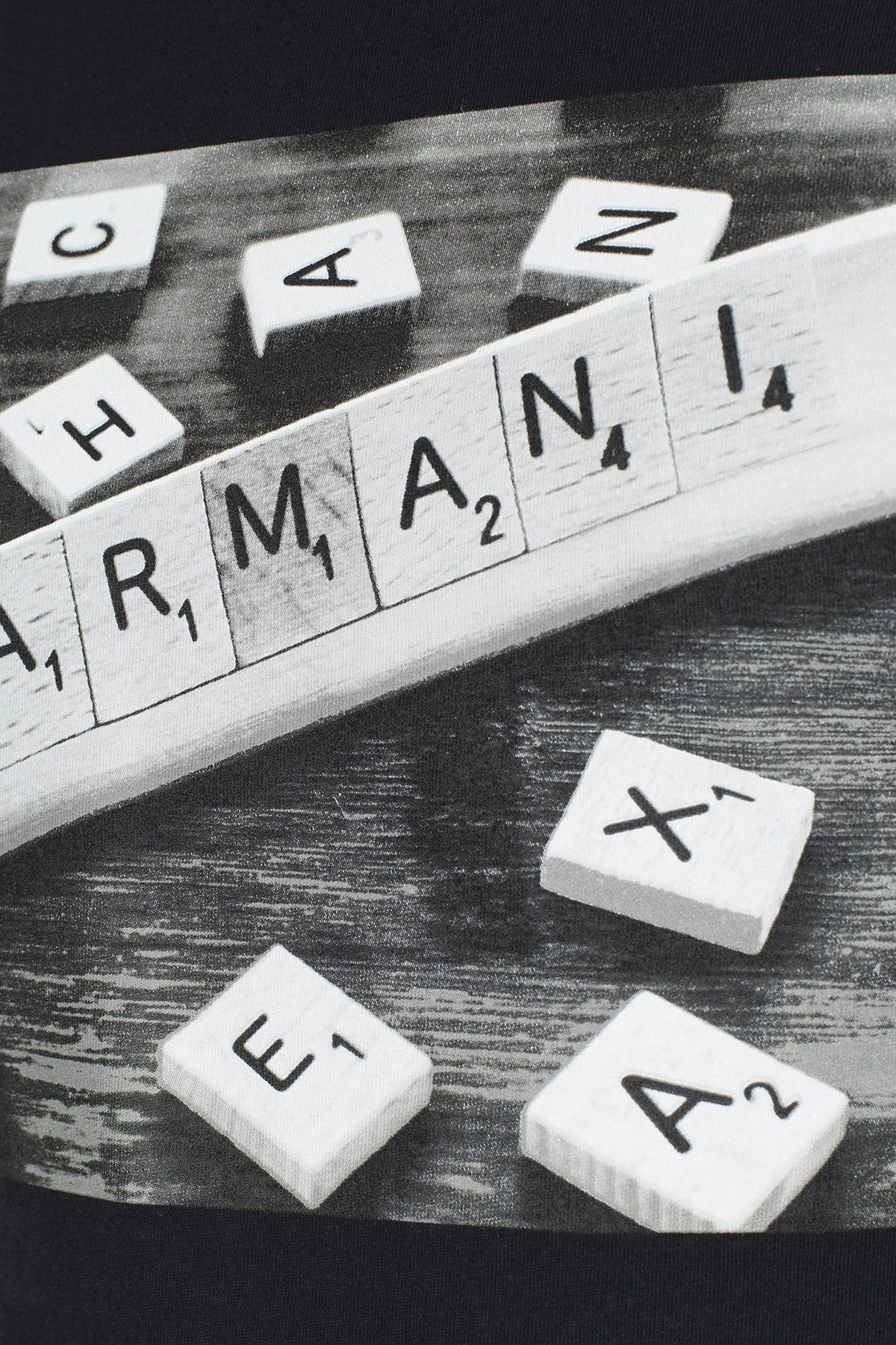 Armani Exchange Erkek T Shirt 3HZTBC ZJ2HZ 1200 SİYAH