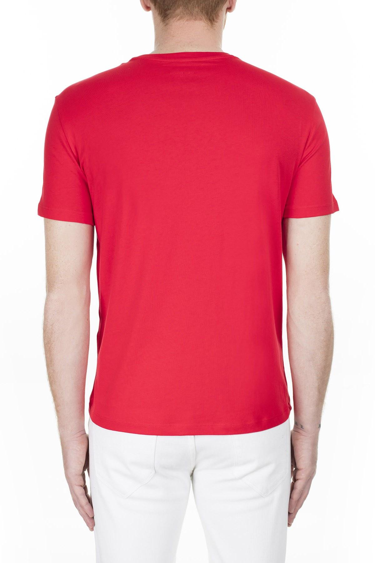 Armani Exchange Erkek T Shirt 3HZTFF ZJH4Z 1401 KIRMIZI