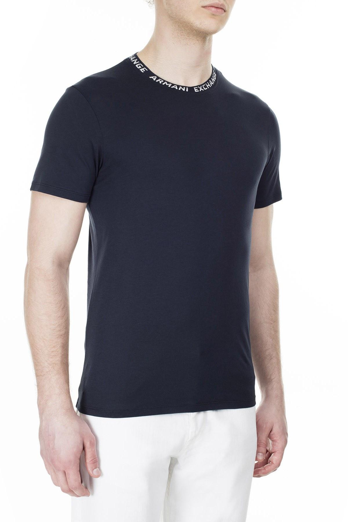 Armani Exchange Erkek T Shirt 3HZTFL ZJA5Z 1510 LACİVERT