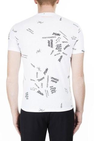 Armani Exchange Erkek T Shirt 3HZTFR ZJH4Z 8114 BEYAZ