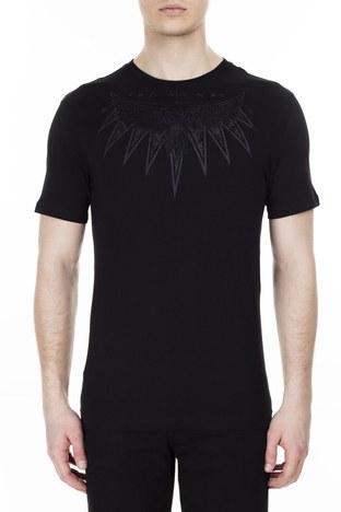 Armani Exchange Erkek T Shirt 3HZTFW ZJH4Z 1200 SİYAH