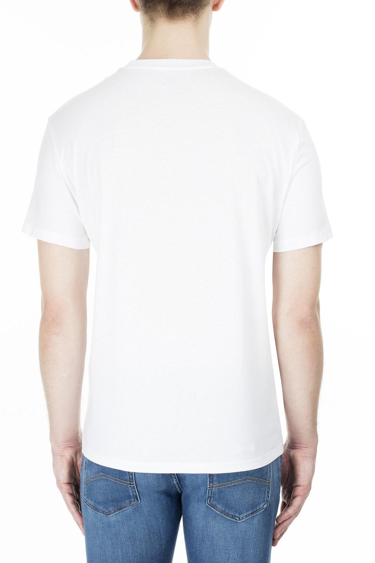 Armani Exchange Erkek T Shirt 3HZTHM ZJ5EZ 1100 BEYAZ