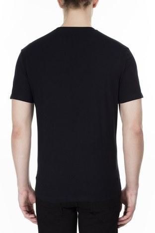 Armani Exchange - Armani Exchange Erkek T Shirt 3HZTHM ZJ5EZ 1200 SİYAH (1)