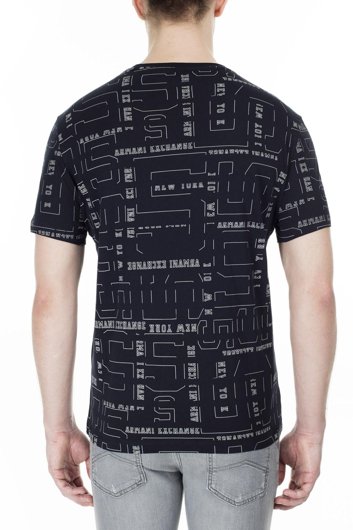Armani Exchange Erkek T Shirt 3HZTLB ZJH4Z 9561 LACİVERT