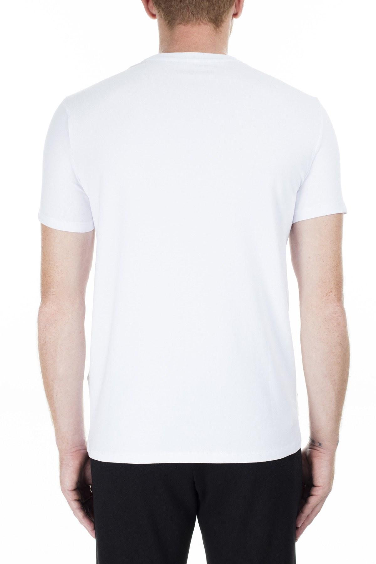 Armani Exchange Erkek T Shirt 6GZTAE ZJS1Z 1100 BEYAZ