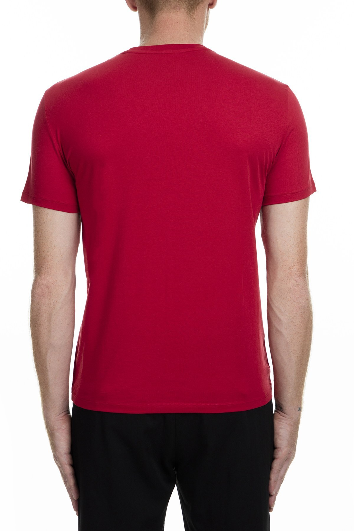 Armani Exchange Erkek T Shirt 6GZTAU ZJA5Z 1465 KIRMIZI