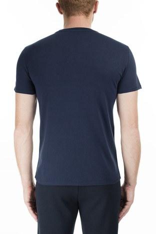 Armani Exchange - Armani Exchange Erkek T Shirt 6GZTBS ZJV5Z 1510 LACİVERT (1)