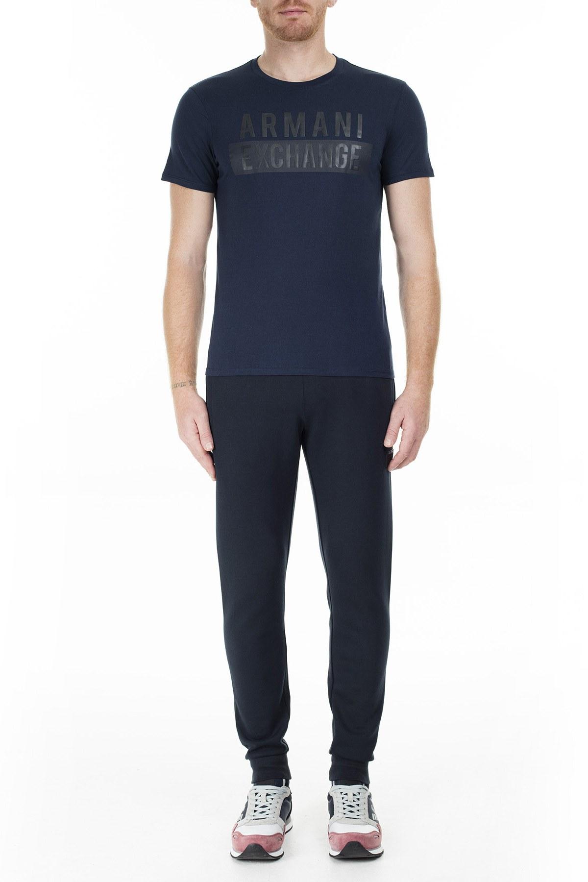 Armani Exchange Erkek T Shirt 6GZTBS ZJV5Z 1510 LACİVERT