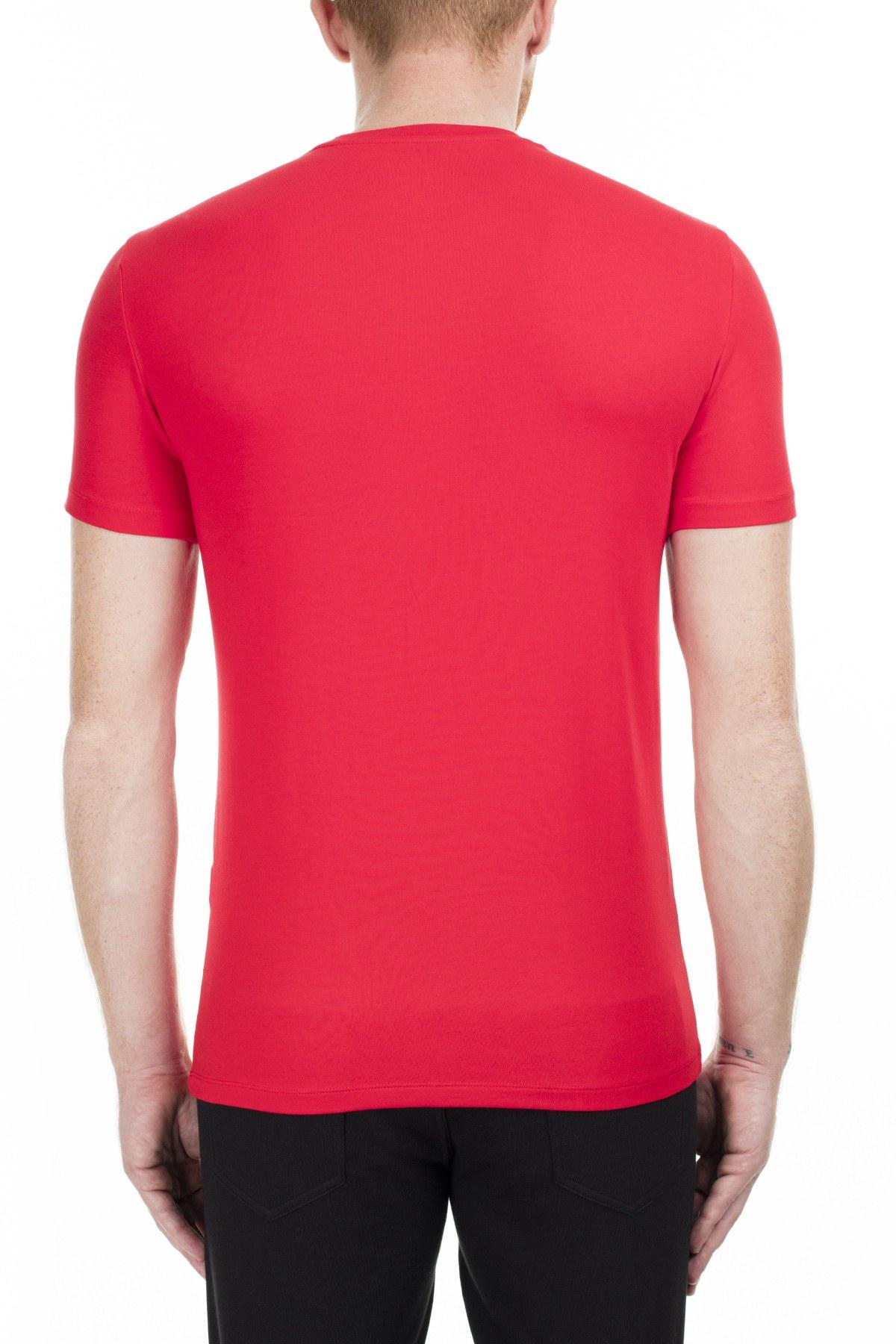 Armani Exchange Erkek T Shirt 6GZTEJ ZJE6Z 1400 KIRMIZI