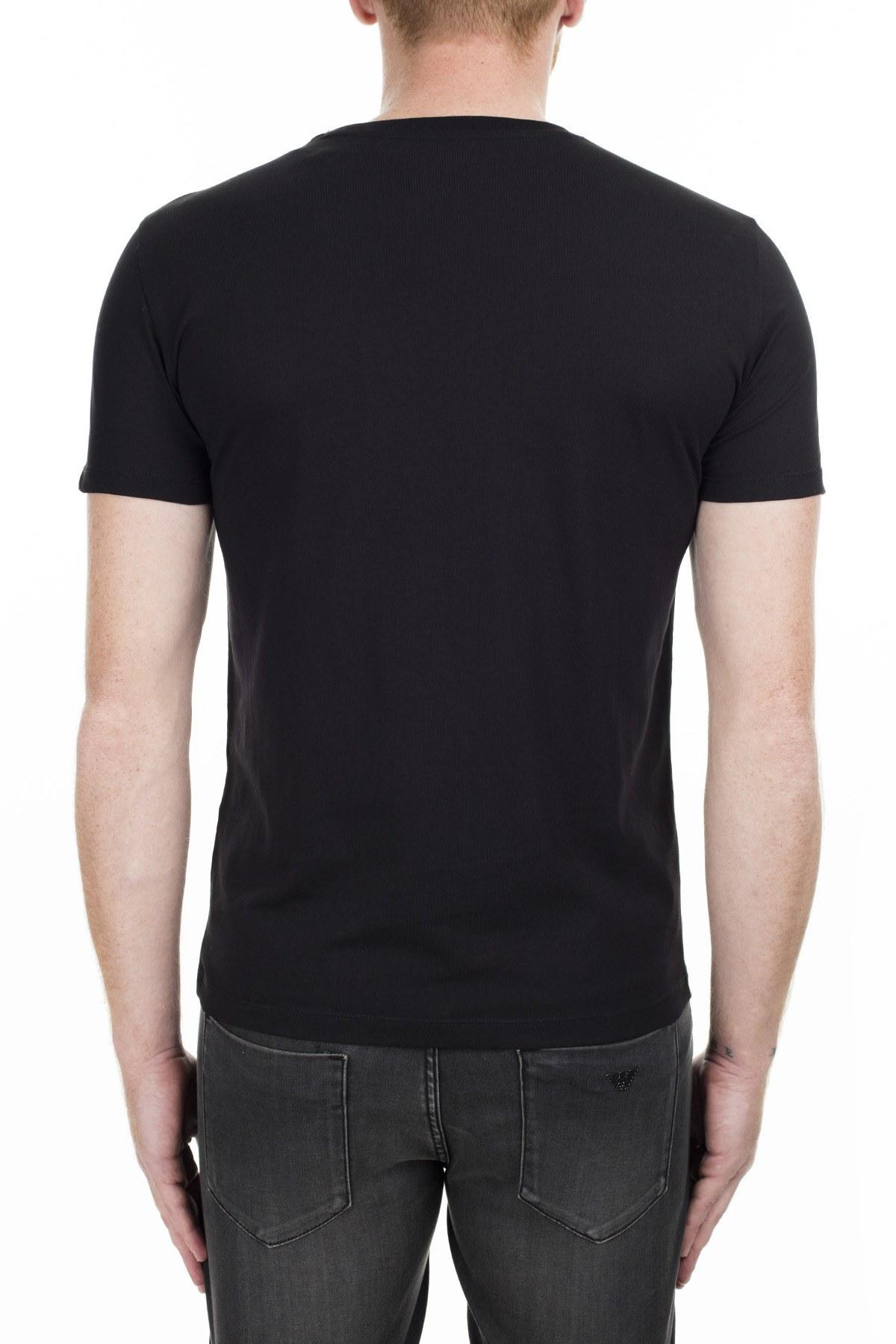 Armani Exchange Erkek T Shirt 6GZTEP ZJBVZ 1200 SİYAH