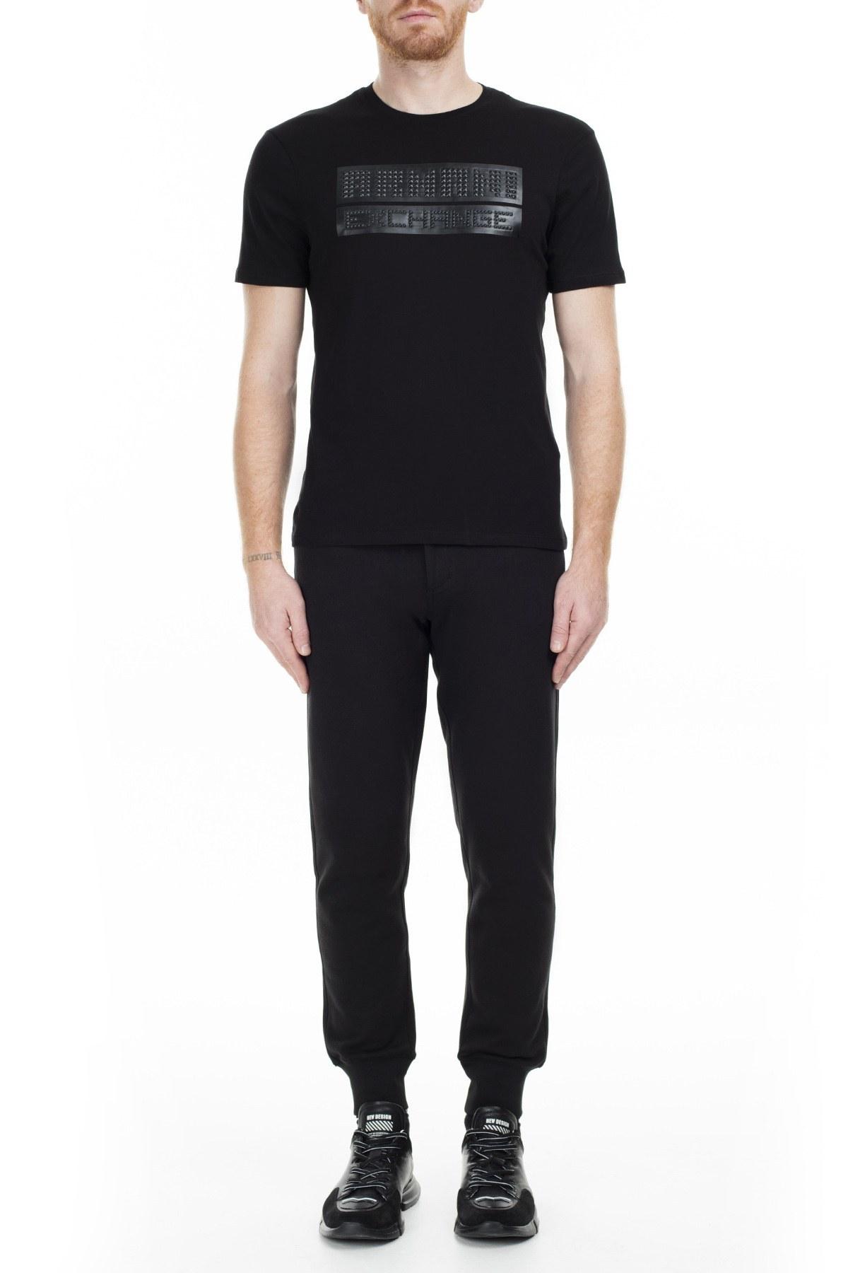 Armani Exchange Erkek T Shirt 6GZTES ZJH4Z 1200 SİYAH