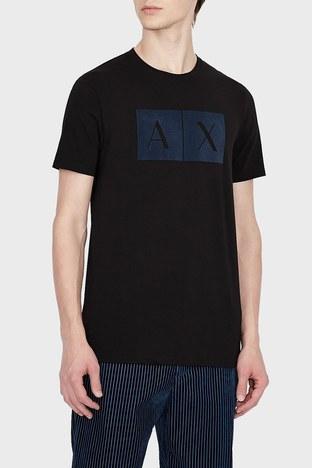 Armani Exchange - Armani Exchange Erkek T Shirt 6KZTGB ZJE6Z 1200 SİYAH
