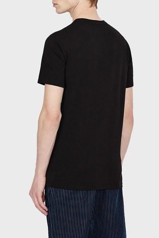 Armani Exchange - Armani Exchange Erkek T Shirt 6KZTGB ZJE6Z 1200 SİYAH (1)