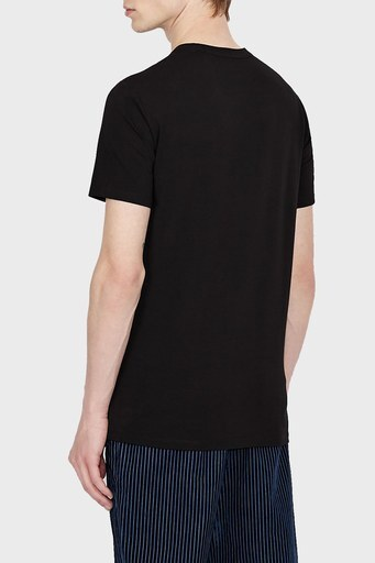 Armani Exchange Erkek T Shirt 6KZTGB ZJE6Z 1200 SİYAH