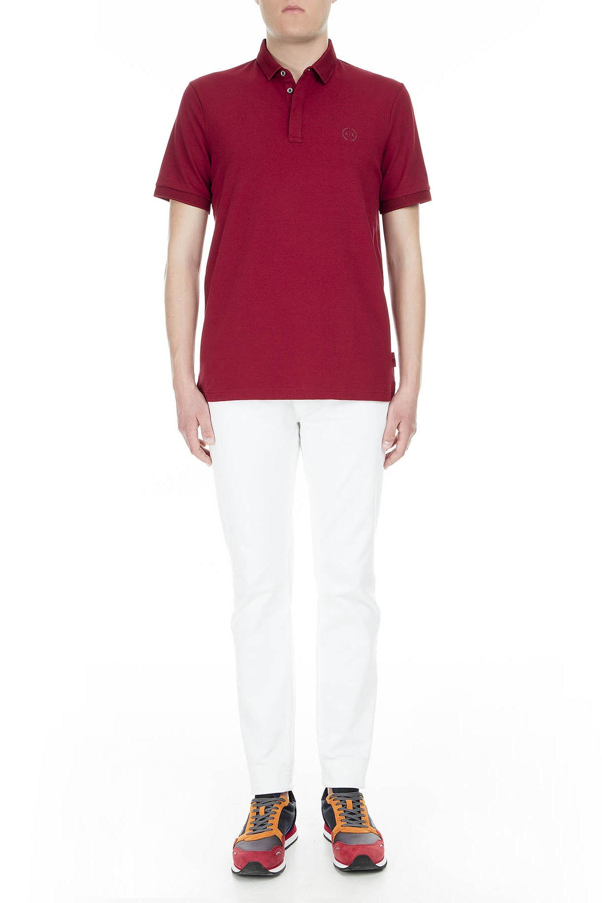 Armani Exchange Erkek T Shirt 8NZF91 ZJ81Z 1457 KIRMIZI