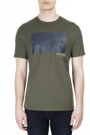 Armani Exchange - Armani Exchange Erkek T Shirt S 6GZTBP ZJBVZ 1842 HAKİ