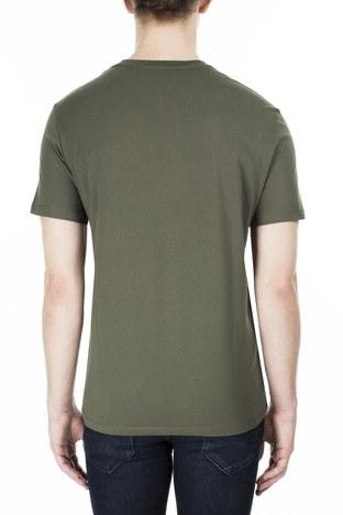 Armani Exchange - Armani Exchange Erkek T Shirt S 6GZTBP ZJBVZ 1842 HAKİ (1)