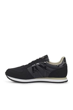 Armani Exchange - Armani Exchange Günlük Spor Bayan Ayakkabı XDX031 XCC62 K516 SİYAH (1)