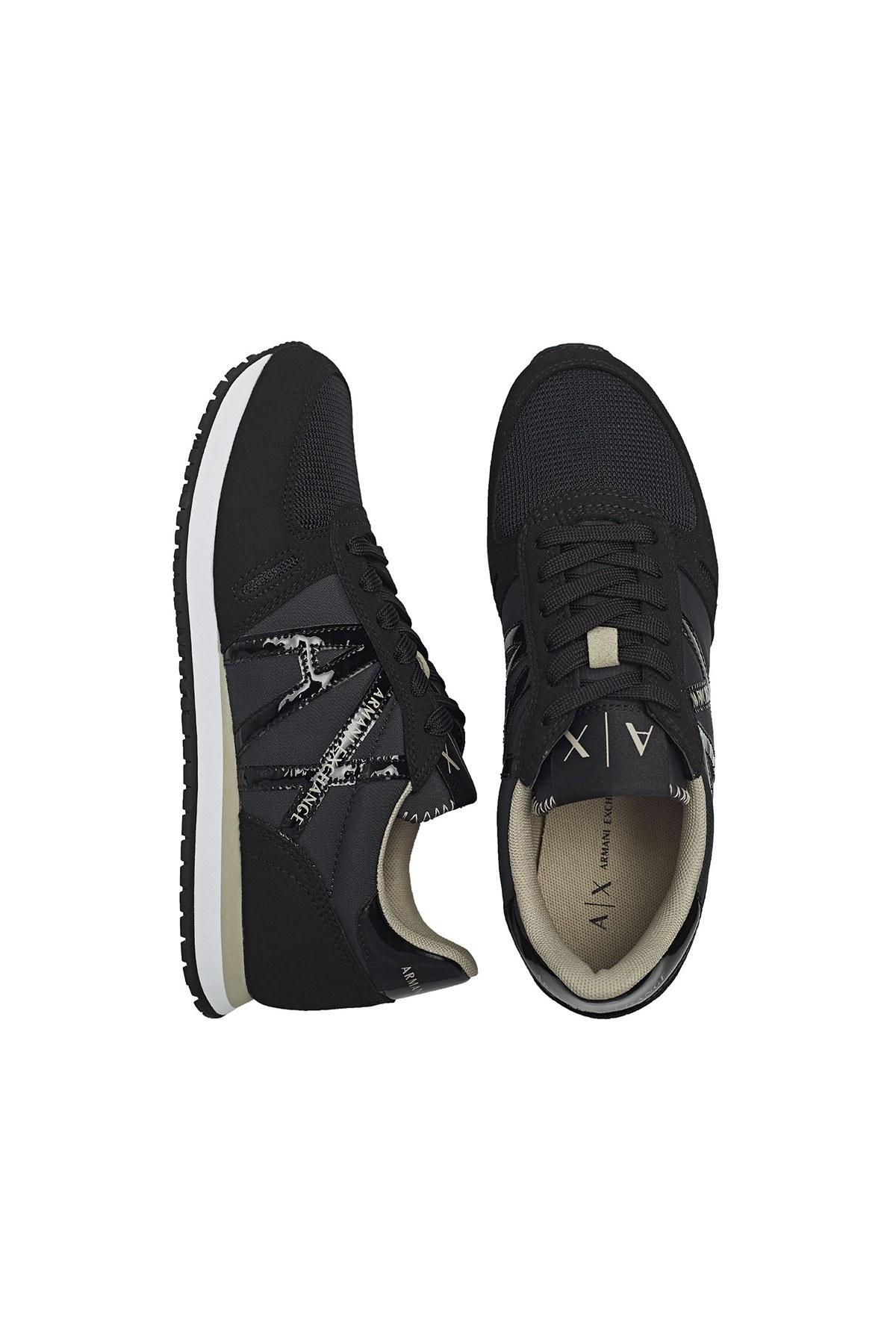 Armani Exchange Günlük Spor Bayan Ayakkabı XDX031 XCC62 K516 SİYAH