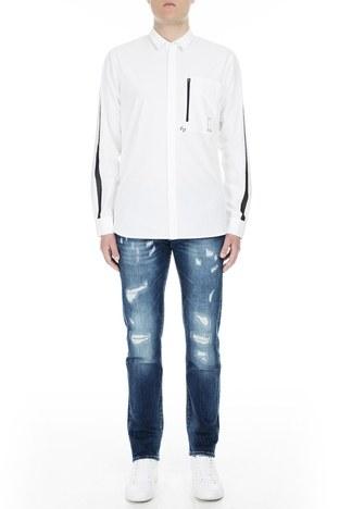 Armani Exchange - Armani Exchange J13 Jeans Erkek Kot Pantolon 3GZJ13 Z1DRZ 1500 KOYU MAVİ