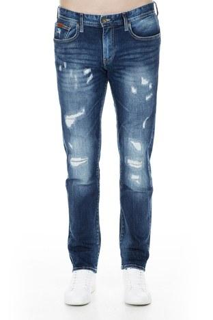 Armani Exchange - Armani Exchange J13 Jeans Erkek Kot Pantolon 3GZJ13 Z1DRZ 1500 KOYU MAVİ (1)