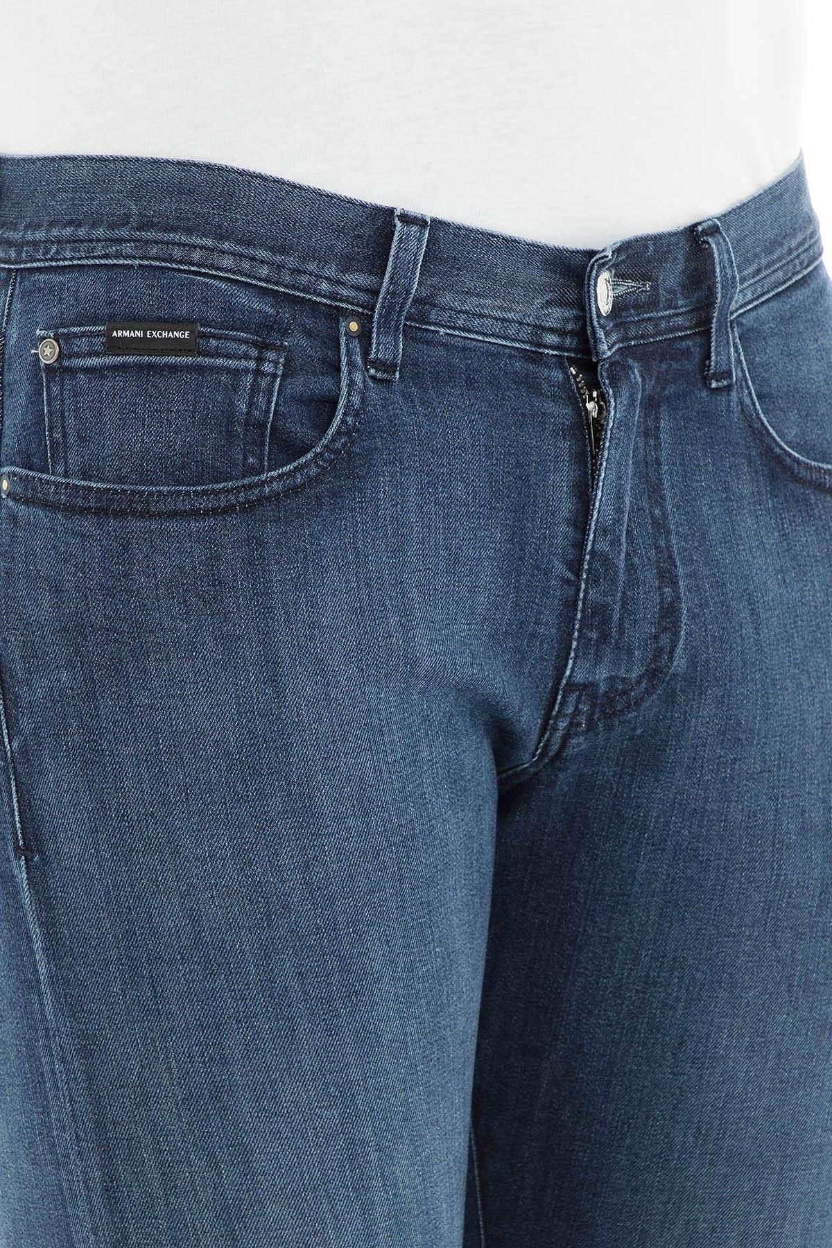 Armani Exchange J13 Jeans Erkek Kot Pantolon 3GZJ13 Z1ECZ 1500 İNDİGO