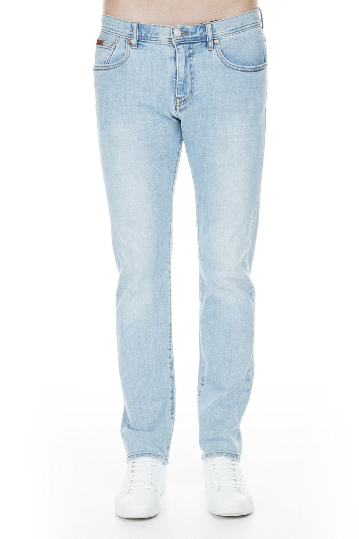 Armani Exchange J13 Jeans Erkek Kot Pantolon 3GZJ13 Z1HVZ 1500 AÇIK MAVİ