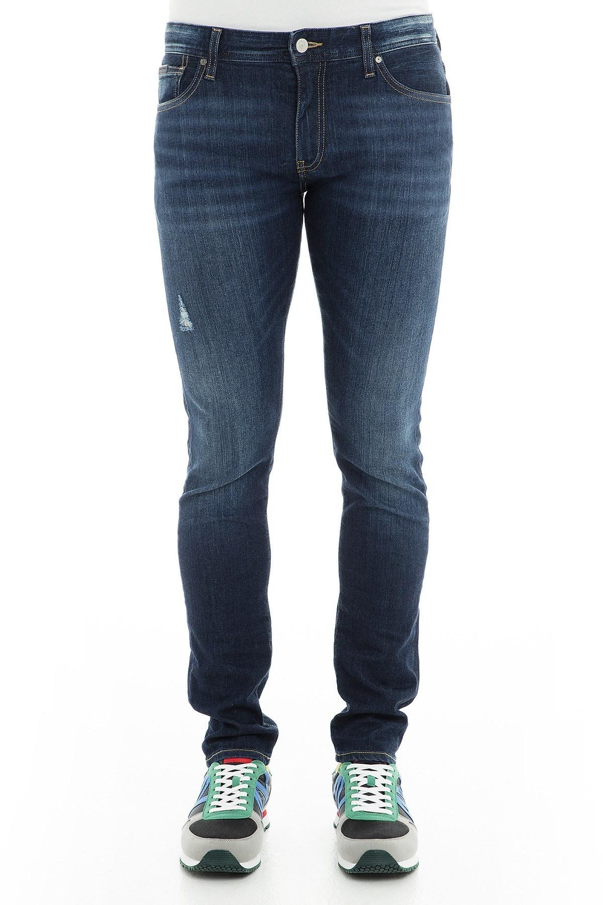 Armani Exchange J14 Jeans Erkek Kot Pantolon 3GZJ14 Z1QDZ 1500 İNDİGO