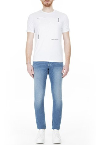 Armani Exchange - Armani Exchange J14 Jeans Erkek Kot Pantolon 3HZJ14 Z2QMZ 1500 İNDİGO