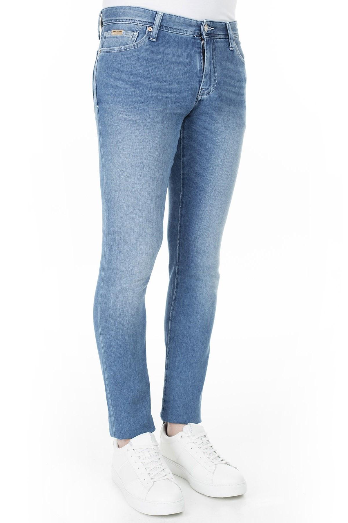 Armani Exchange J14 Jeans Erkek Kot Pantolon 3HZJ14 Z2QMZ 1500 İNDİGO