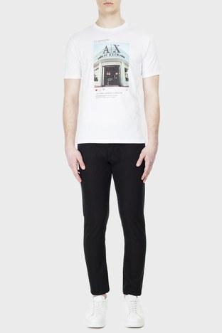 Armani Exchange - Armani Exchange J14 Jeans Erkek Kot Pantolon 3HZJ14 ZNGGZ 1200 SİYAH