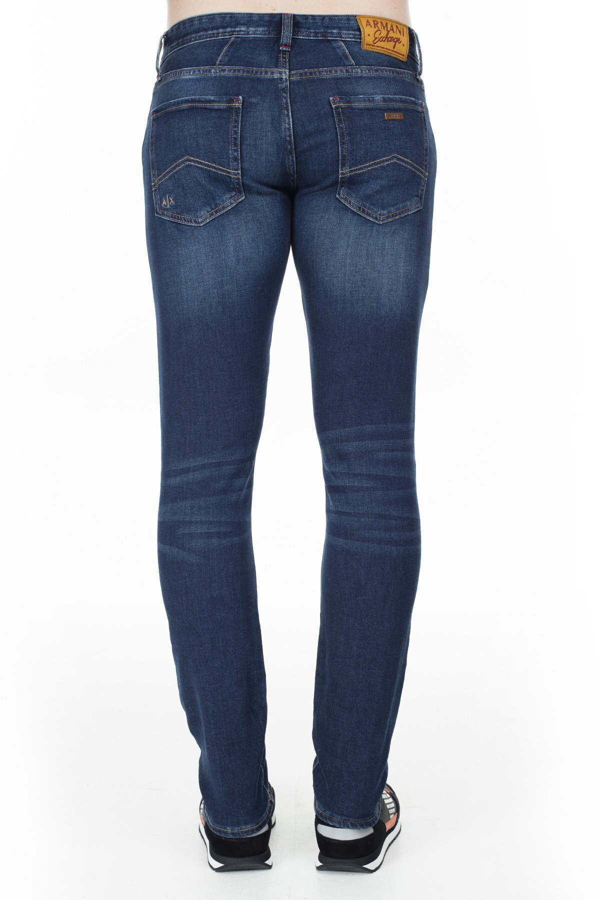 Armani Exchange J14 Jeans Erkek Kot Pantolon 6GZJ14 Z1RLZ 1500 LACİVERT
