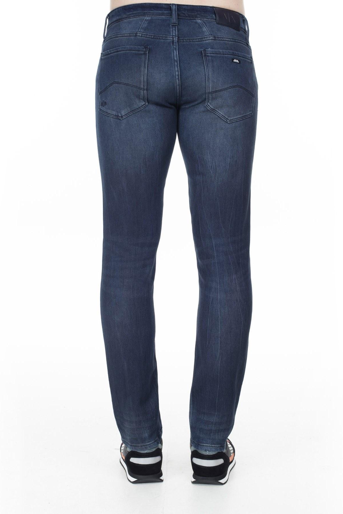 Armani Exchange J14 Jeans Erkek Kot Pantolon 6GZJ14 Z2KCZ 1500 LACİVERT