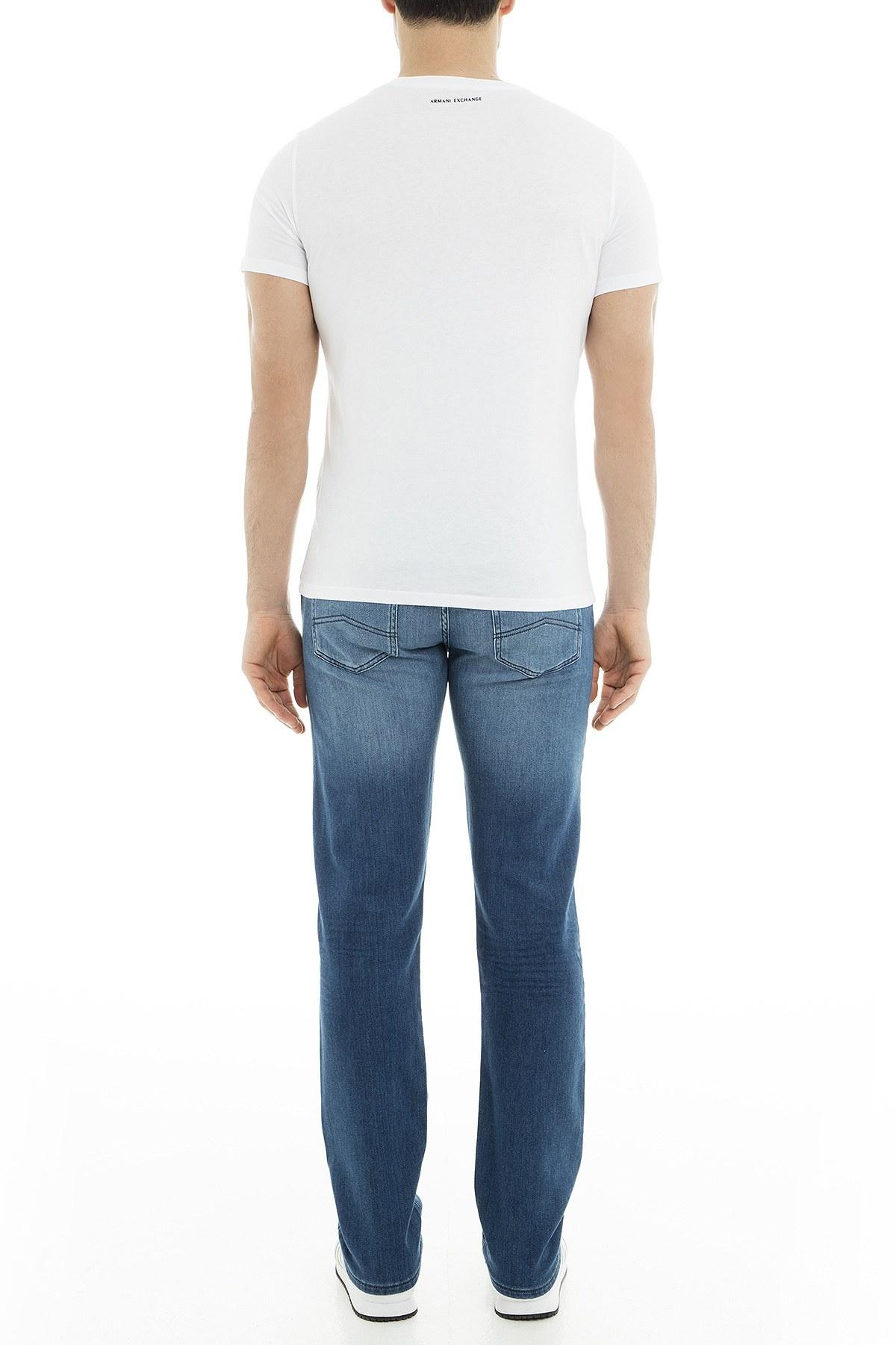 Armani Exchange J16 Jeans Erkek Kot Pantolon 3GZJ16 Z1QMZ 1500 İNDİGO