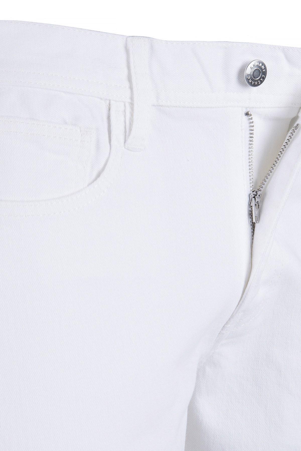 ARMANI EXCHANGE J16 JEANS Erkek Kot Pantolon 8NZJ16 Z3CAZ 1100 BEYAZ
