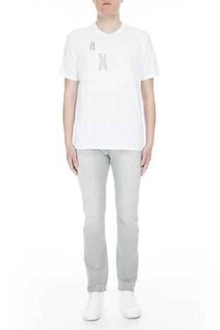 Armani Exchange - Armani Exchange J17 Jeans Erkek Kot Pantolon 3GZJ17 Z1QJZ 0904 GRİ