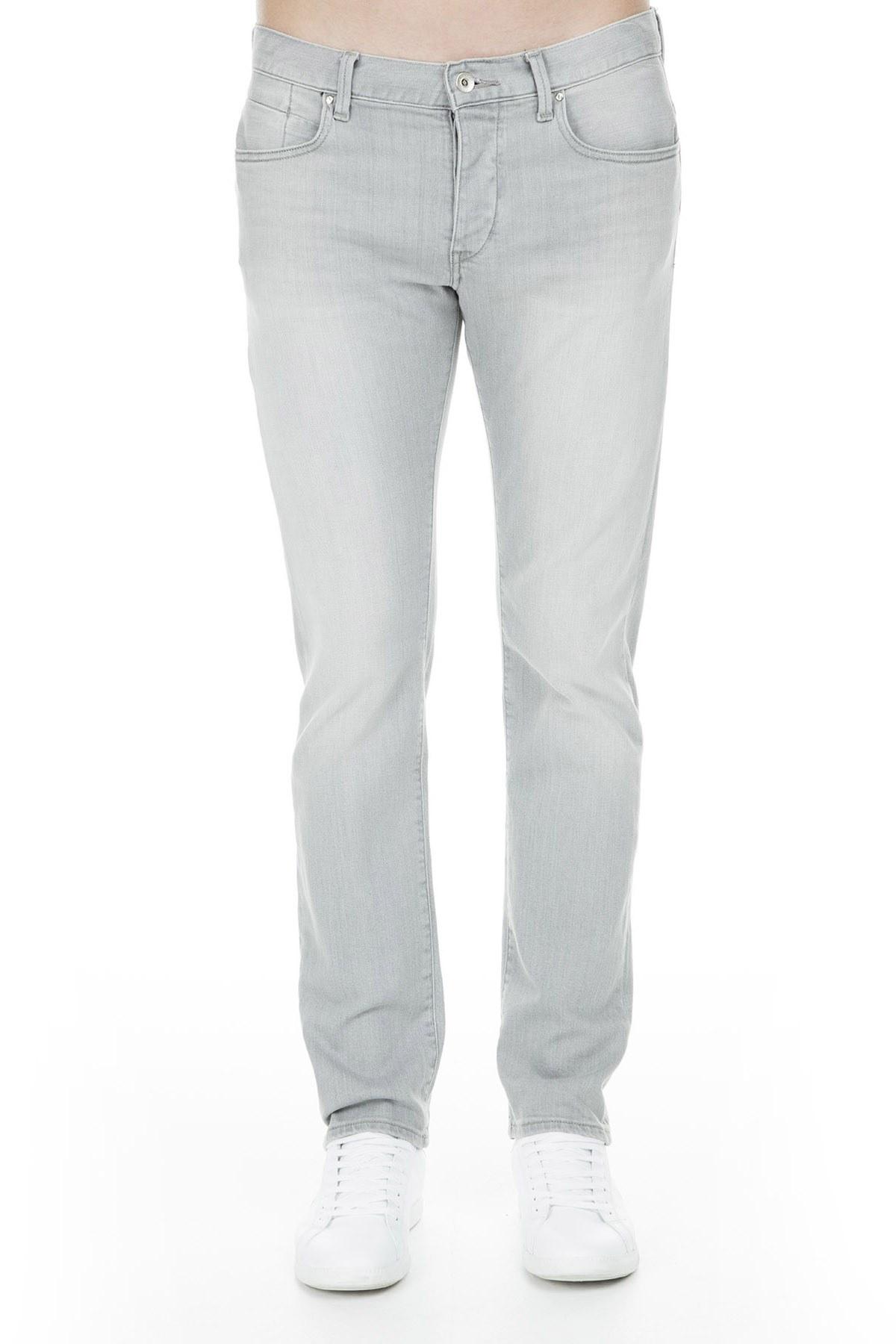 Armani Exchange J17 Jeans Erkek Kot Pantolon 3GZJ17 Z1QJZ 0904 GRİ