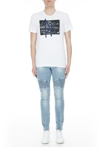 Armani Exchange - Armani Exchange J27 Jeans Erkek Kot Pantolon 3GZJ27 Z1RAZ 1500 AÇIK MAVİ