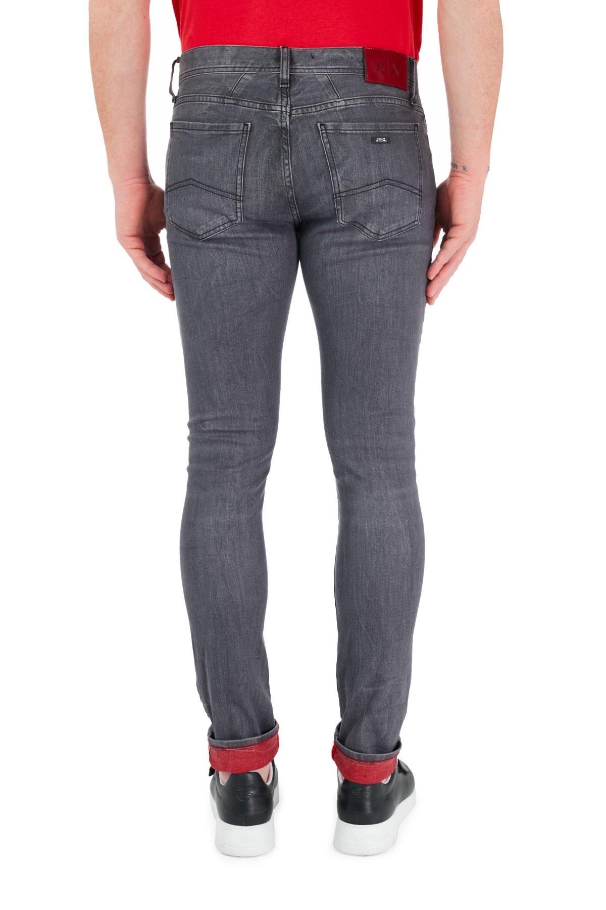 Armani Exchange J33 Jeans Erkek Kot Pantolon 6GZJ33 Z1QHZ 0204 SİYAH
