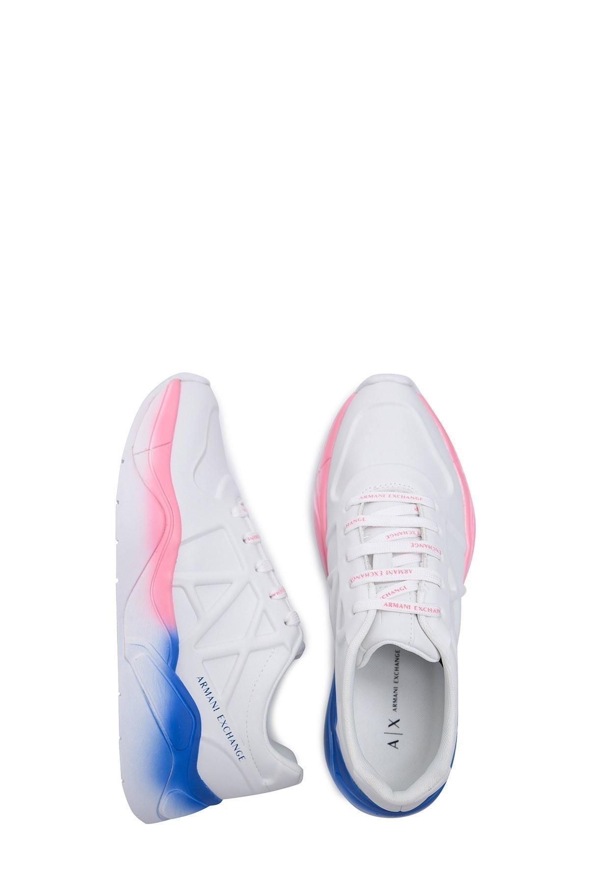 Armani Exchange Kadın Ayakkabı XDX036 XV304 00152 KIRIK BEYAZ