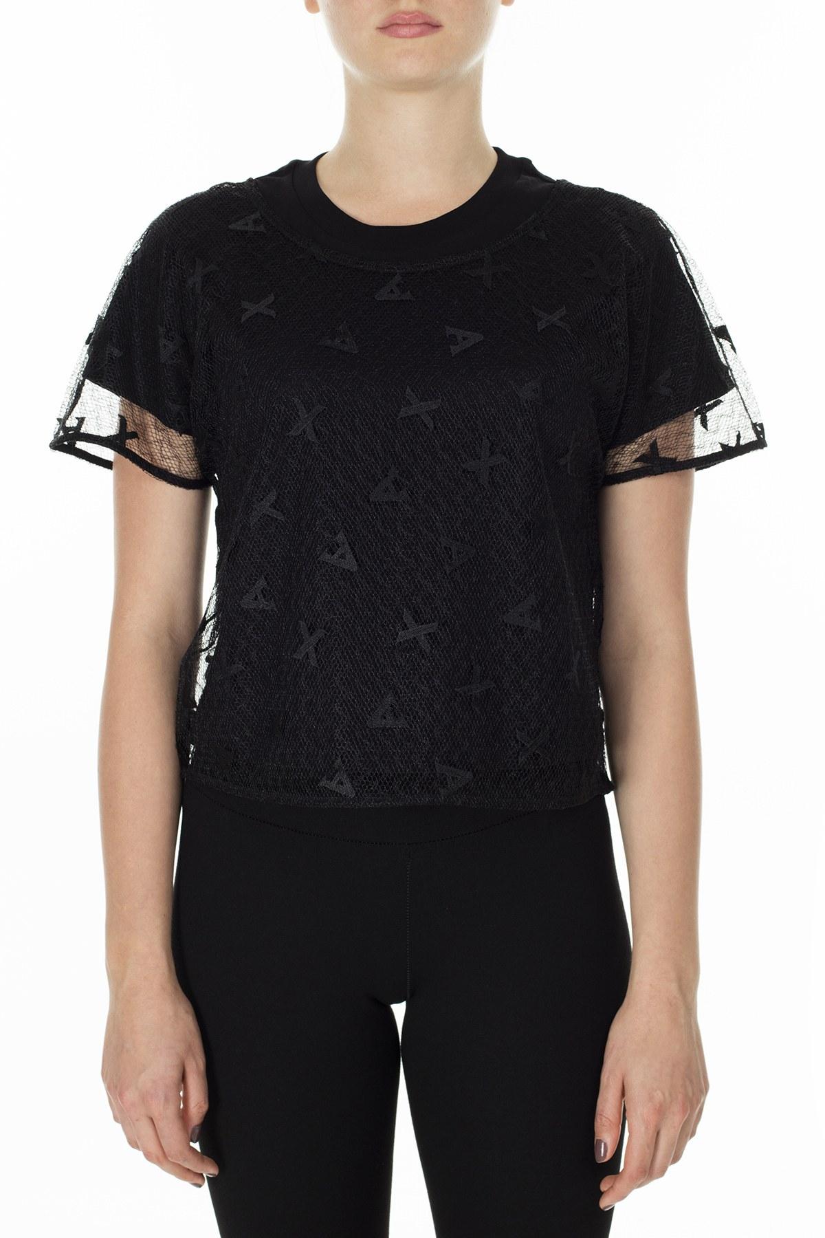 Armani Exchange Kadın Bluz 3HYH08 YNMZZ 1200 SİYAH