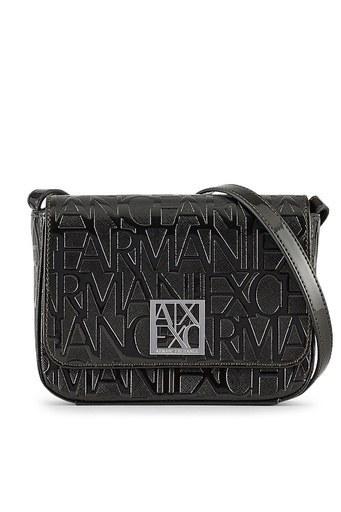 Armani Exchange Marka Logolu Bayan Çanta 942648 CC794 00020 SİYAH
